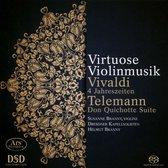 Virtuose Violinmusik: Vivaldi, Telemann