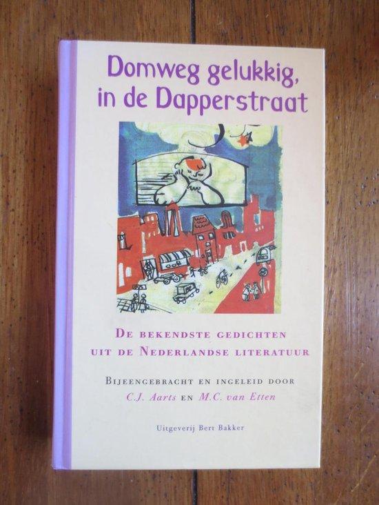 Domweg Gelukkig, In De Dapperstraat - Auteur Onbekend  