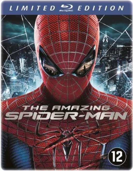 Cover van de film 'Amazing Spider-Man'
