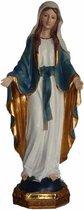 Heilige Maagd Maria beeldje 22 cm - Polystone - Kerst decoratie