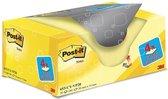 Afbeelding van Value Pack: Post-it® Notes, Canary Yellow™, 38 x 51 mm, 100 Blaadjes/Blok, 16 Blokken + 4 GRATIS