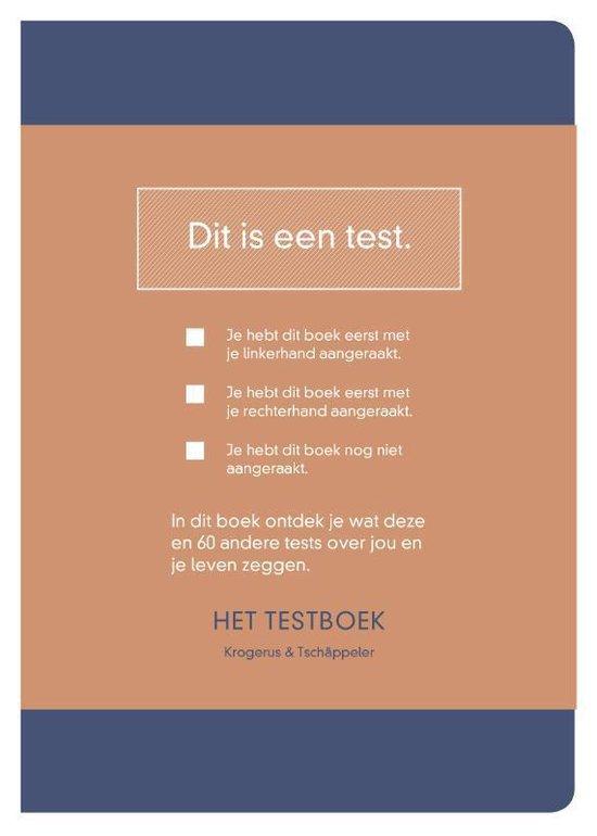 Het testboek - Mikael Krogerus |
