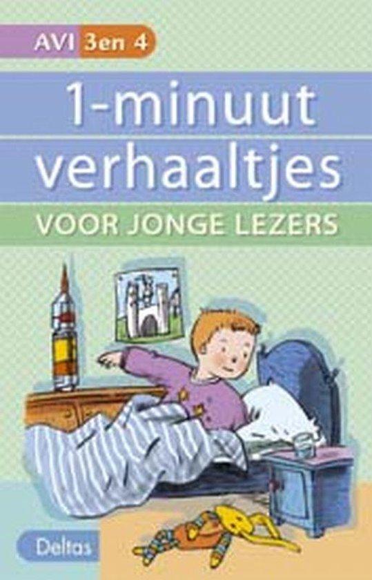 Cover van het boek '1-minuutverhaaltjes voor jonge lezers' van Hetty van Vught