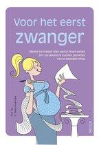 Boek cover Voor het eerst zwanger van Olivia Toja (Paperback)