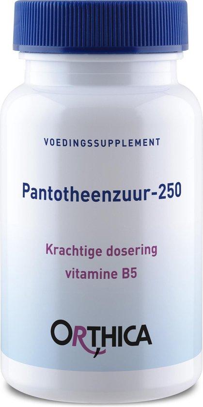 Orthica Pantotheenzuur-250  (vitaminen)