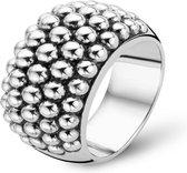 TI SENTO Milano Ring 1792SI - Maat 52 (16,5 mm) - Gerhodineerd Sterling Zilver