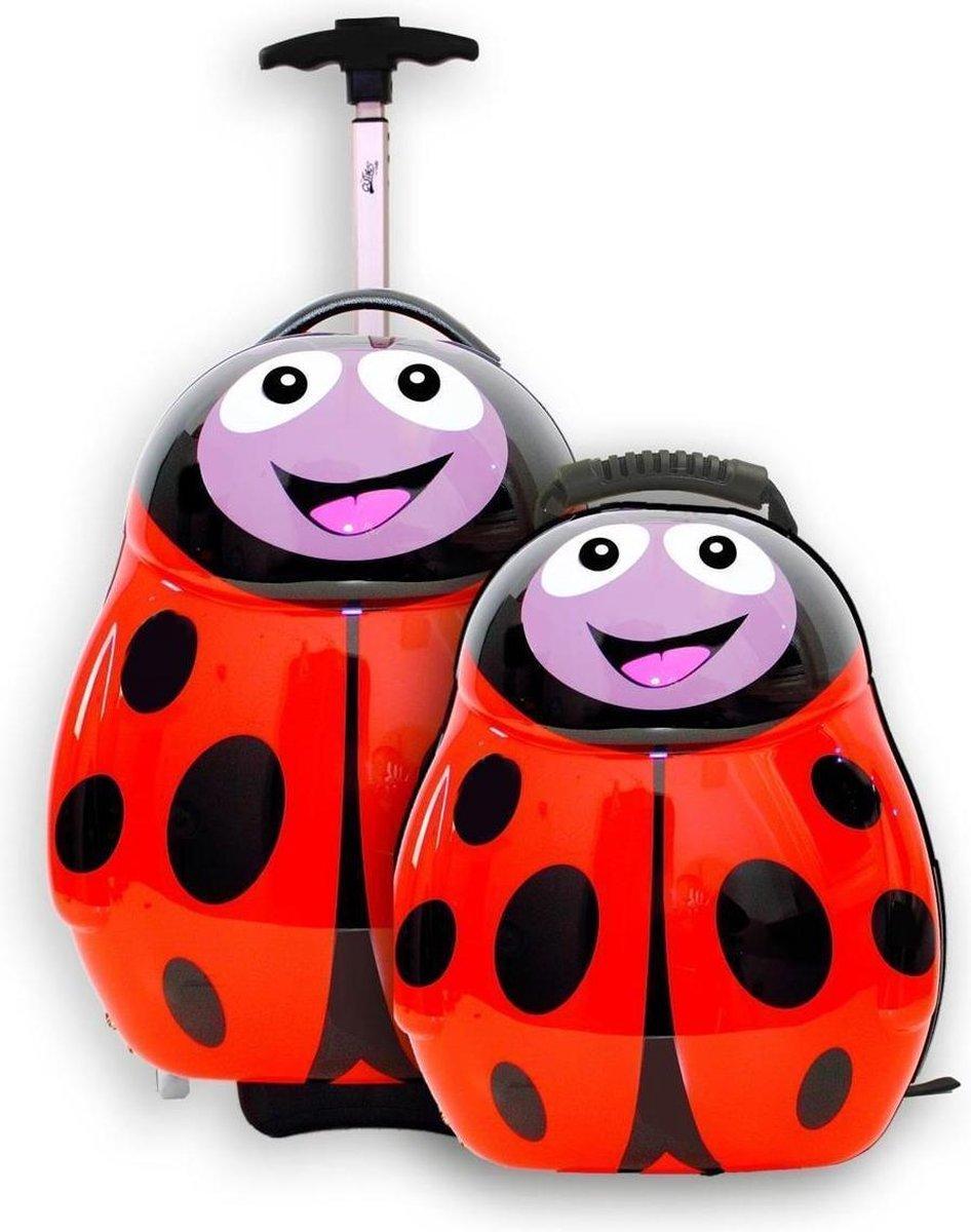 Cuties And Pals Trolley En Rugzak Polska Het Lieveheersbeestje - The Cuties and Pals