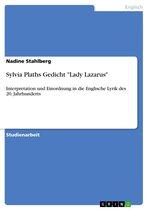 Sylvia Plaths Gedicht 'Lady Lazarus'