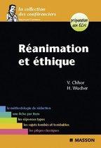 Boek cover Réanimation et éthique van Vibol Chhor