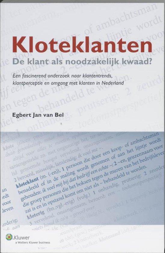 Kloteklanten - Egbert Jan van Bel |