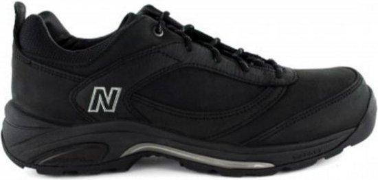 New Balance MW956BK Black Nubuck wandelschoenen heren (282101-60-8)