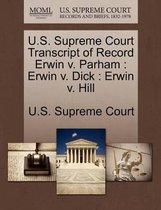 U.S. Supreme Court Transcript of Record Erwin V. Parham