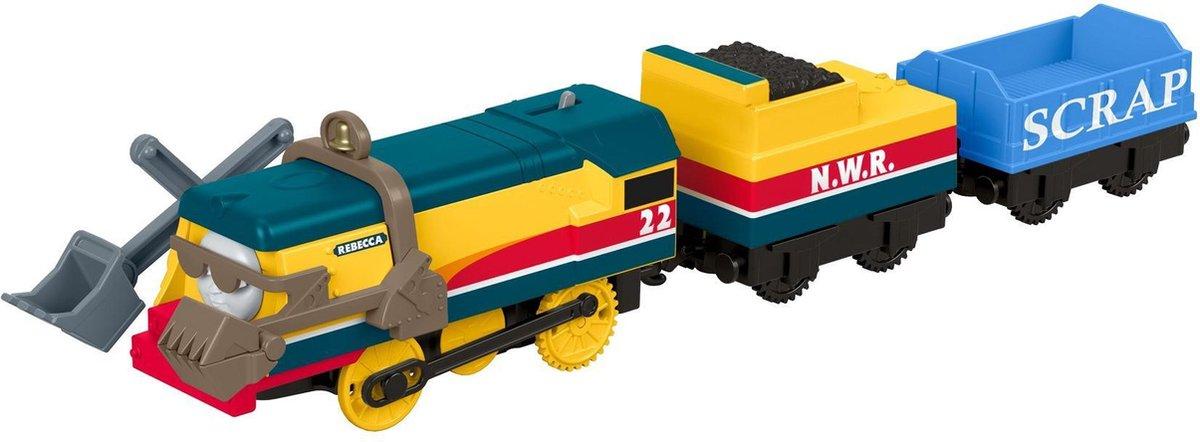 Thomas de Trein Track Master Gemotoriseerde Rebecca - Speelgoedtreintje