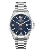 SWISS MILITARY HANOWA Observer Steel Blue horloge 06-5277.04.003