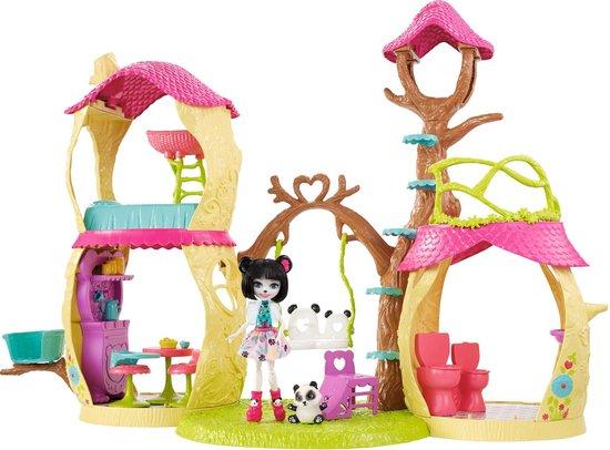 Enchantimals Dierenboomhut - Speelfigurenset - Mattel