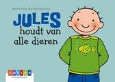 Jules kartonboekje 19 -   Jules houdt van alle dieren