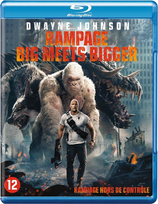 Rampage: Big Meets Bigger (Blu-ray)