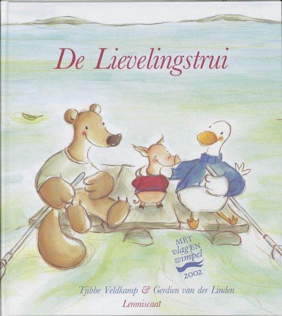 Cover van het boek 'De lievelingstrui' van Tjibbe Veldkamp