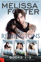 The Remingtons (Books 1-3, Boxed Set) Contemporary Romance