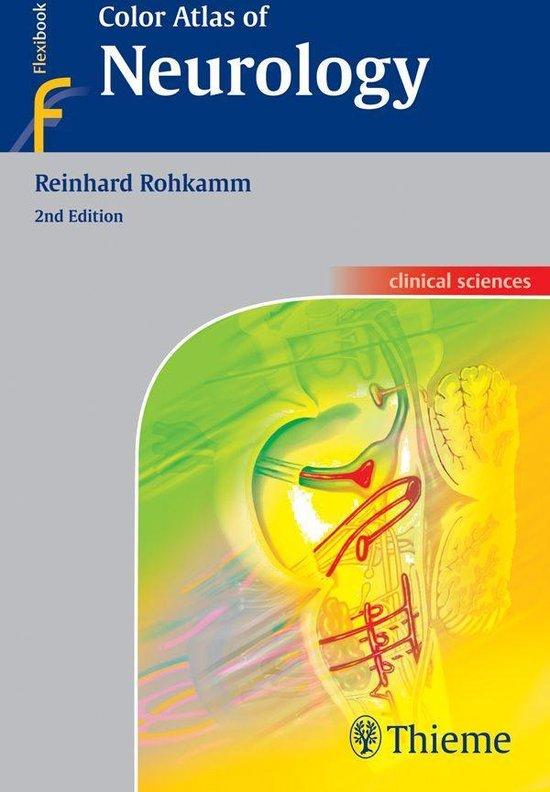 Boek cover Color Atlas of Neurology van Reinhard Rohkamm (Onbekend)