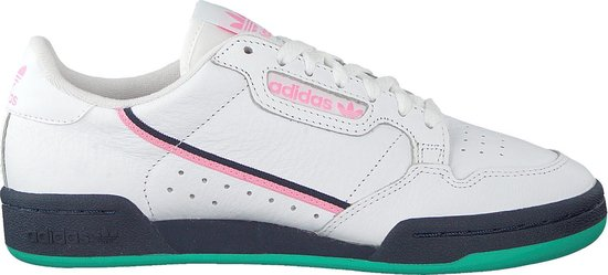 bol.com | Adidas Dames Sneakers Continental 80 W - Wit - Maat 40