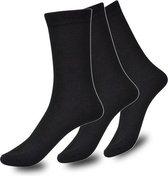 Sokken Heren Zwart Set 3 paar Maat 43-46