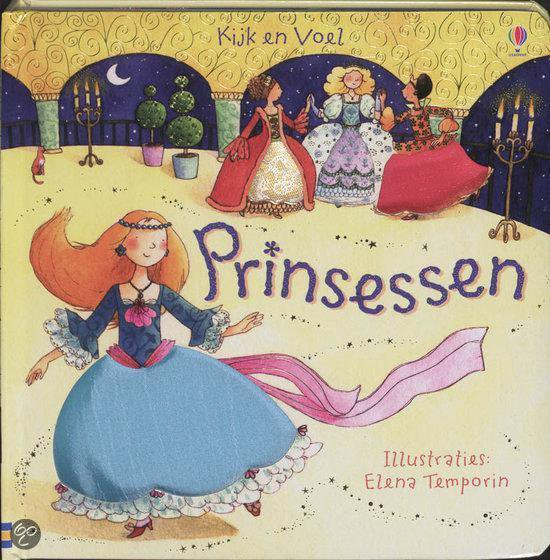 Cover van het boek 'Prinsessen'