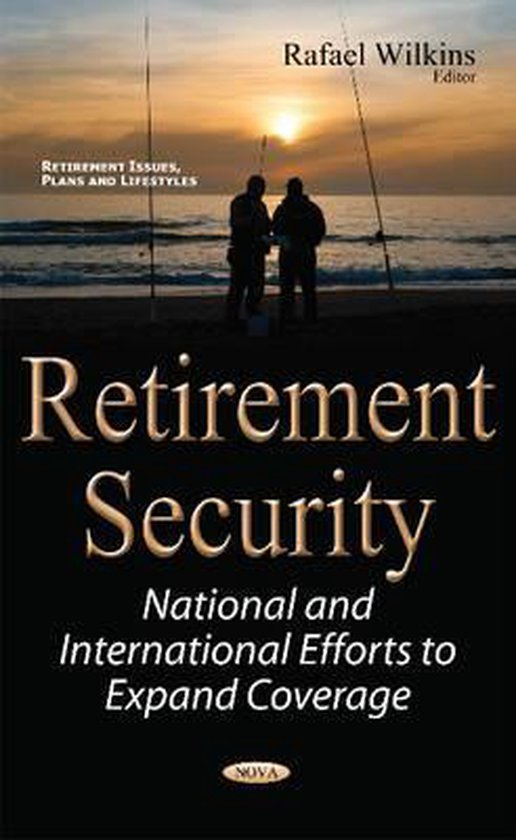 Boek cover Retirement Security van  (Hardcover)