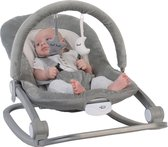 Bo Jungle B-Rocker Wipstoel - 0-18 kg - Grey