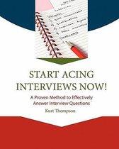 Start Acing Interviews Now!