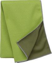 Verkoelende sport handdoek Lime