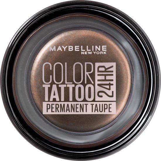 Maybelline Eye Studio Color Tattoo Oogschaduw - 40 Permanent taupe/bruin