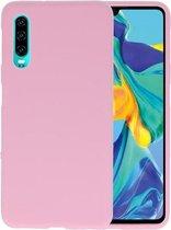Bestcases Telefoonhoesje Huawei P30 - Roze