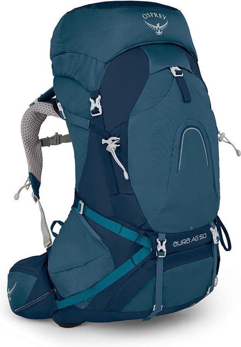 Osprey Aura AG 50l backpack dames Challenger Blue Small