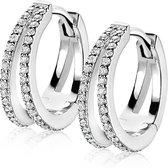 Zinzi Jewels Zilveren Oorbellen  - Zilver