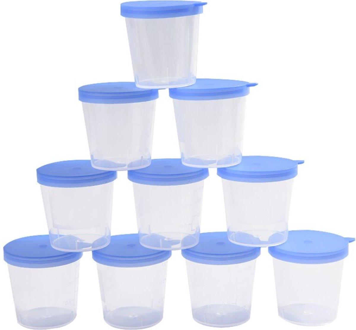 Urine Potjes   10 Stuks - Speciale Coating voor Onderzoek Urine   Vind (afwijkende) Stoffen Eenvoudi