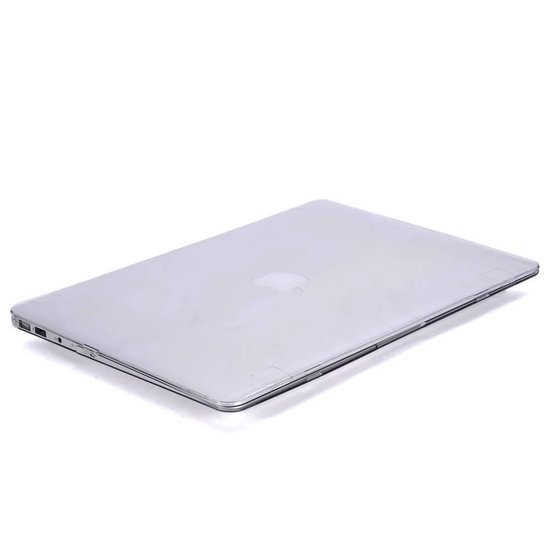 Lunso - hardcase hoes - MacBook Air 13 inch (2010-2017) - glanzend transparant