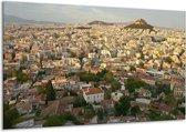 Canvas schilderij Uitzicht | Grijs, Wit, Groen | 120x70cm 1Luik