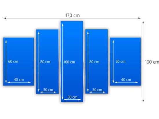 Glas schilderij Bloem | Sepia | 170x100cm 5Luik | Foto print op Glas |  F006610
