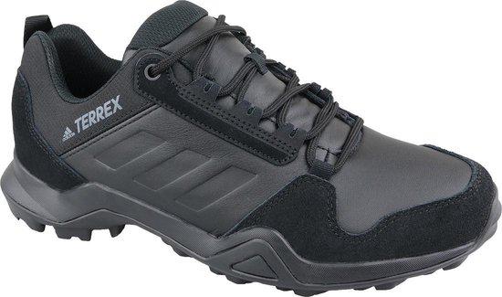adidas Terrex AX3 LEA EE9444, Mannen, Zwart, Trekkinglaarzen maat: 46 2/3 EU