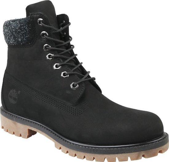 Timberland 6 In Premium Boot A1UEJ, Mannen, Zwart, Laarzen maat: 44.5 EU