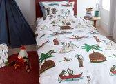 Beddinghouse Kids Wigwam - Dekbedovertrek - Eenpersoons - 140x200/220 cm + 1 kussensloop 60x70 cm - Multi