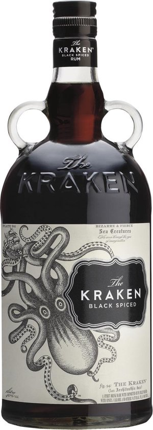 Kraken Black Spiced Rum - 70 cl