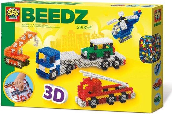 SES Beedz 3D Strijkkralen - 3D Voertuigen