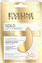 Eveline Cosmetics Gold Lift Expert Luxury Anti Wrinkle Golden Eye Pads