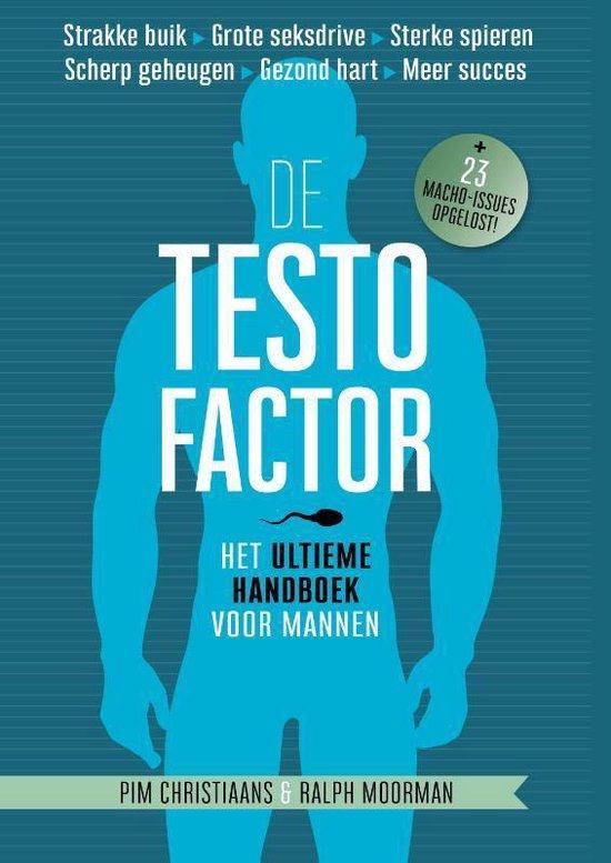 Boek cover De testofactor van Pim Christiaans (Hardcover)
