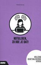 bol.com   Notuleren, zo doe je dat!   9789462156845   Marjolein de Jong    Boeken