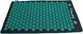 Flowee Grijs/Zeegroene Duurzame ECO Model Spijkermat – Kokosvezels Vulling - Acupressuur mat