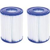 Bestway - 2 stuks filtercartridges - Zwembadfilter