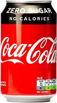 Coca-Cola Zero blik 24x33 cl